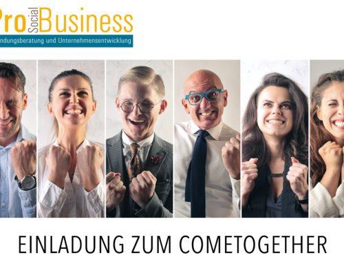 Cometogether für Gründer/innen