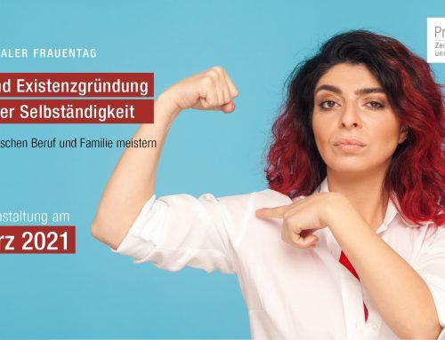 08.03.2021 – Online Veranstaltung – Frauen und Existenzgründung