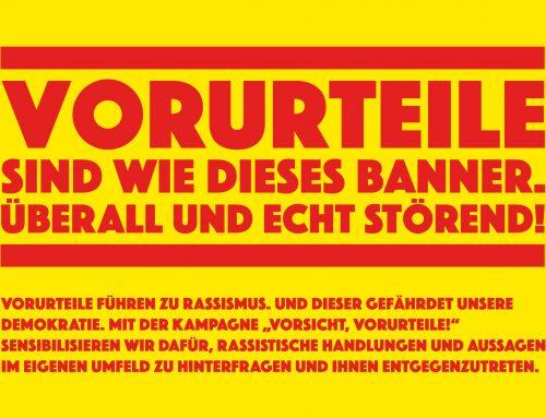 """Aktionstag """"Vorsicht, Vorurteile!"""" am 18.3.2021"""
