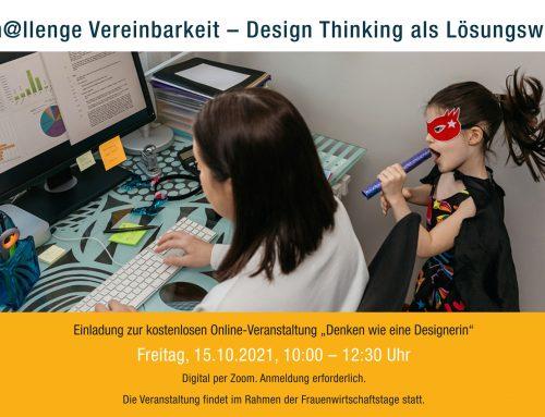 Ch@llenge Vereinbarkeit – Design Thinking als Lösungsweg
